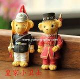 Shaped Resin Fridge Magnet dell'orso del principe per la promozione (YH-RFM028)