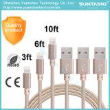 iPhone를 위한 고품질 USB 데이터 비용을 부과 케이블 6 6s