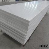 12mmの氷河白く純粋なアクリルの固体表面