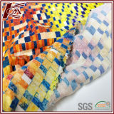 Fabrikdirekter kundenspezifischer Spandex-Silk Baumwollgewebe mit en