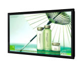 vídeo del panel de visualización de 55-Inch LCD que hace publicidad del jugador, señalización de Digitaces