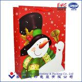 Zak van het Document van Kerstmis van de Zak van het Document van China de In het groot Bruine Kraftpapier