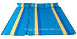 Doppelte Rohseide-kampierende Matte des Polyester-75D mit Luft-Kissen für zwei oder drei Leute