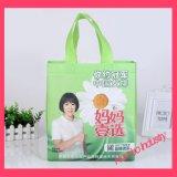 Sacchetto non tessuto d'acquisto personalizzato promozionale di marchio non tessuto facendo pubblicità al sacchetto