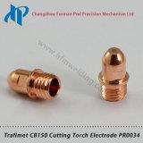 Électrode Pr0034 de nécessaire de consommables de chalumeau de plasma de Trafimet CB150