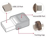 Platte USB-Speicher-Stock-Feder-Laufwerk des USB-Blitz-Laufwerk-MetallOTG Hochgeschwindigkeitsu