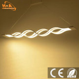 Einfacher Entwurfs-lineares hängendes Licht