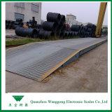 100 Tonnen-LKW-Wiegebrücke für Versandbehälter am Kai