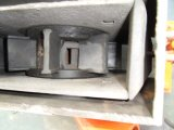 Testa della ventola Q034 per la macchina di granigliatura