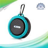 Haut-parleurs sans fil portatifs de C6 Bluetooth avec le crochet