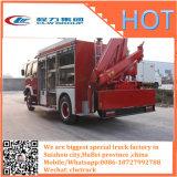 Carro Emergency de la lucha contra el fuego del camión de auxilio de la grúa del rescate de HOWO 4X2