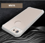 iPhone 7을%s 최신 까만 반대로 미끄러운 내진성 전화 상자