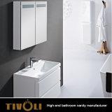 Причудливый тщета ванной комнаты Hang стены Desginer с брить шкафы и бортовые шкафы Tivo-0014vh