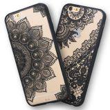 최신 레이스 내복 디자인 더하기 iPhone 6/7를 위한 반지를 가진 섹시한 이동 전화 상자