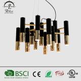 2017 de Eenvoudige Kroonluchter van de Cilinder van het Aluminium van de Kunst van de Manier van de Lamp van de Originaliteit Hangende