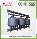 Filtro médio raso de aço de carbono para o tratamento da água industrial