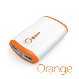 Popular Portable Power Bank 4000mAh LED Lighting Output Convenient