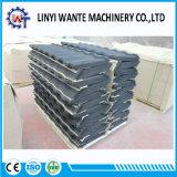 Tipo cubierto piedra del enlace del azulejo de azotea del metal de los materiales de material para techos de la hoja de acero del Aluminio-Cinc