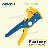 À dénuder de pince éliminant d'outils de pince de HS-700b d'à dénuder de couteau automatique de câble