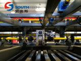 Glace plate de machine en verre de Southtech avec réussir la section gâchant le four