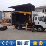Exportation de vente chaude vers la grue mobile de camion de boum de Tlescopic de châssis de la Thaïlande
