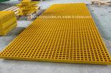 Engranzamento de grande resistência do Grating-Quadrado da fibra de vidro Grating/FRP/GRP