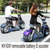 都市ココヤシの電気スクーターはとの電池を除去する