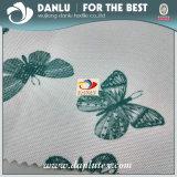 600d Tela impresa mariposa PEVA de Oxford revestida para el bolso