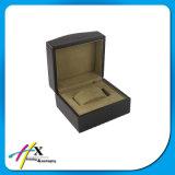 Di legno di lusso della pittura nera lucida scelgono il contenitore di regalo impaccante della vigilanza
