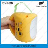 Côté solaire portatif de pouvoir de lumière de lanterne de DEL