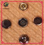 Bouton UV de vêtement de placage de bouton de résine de mode