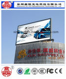 Im Freien farbenreiches P6 RGB LED Bildschirm-Baugruppen-Bildschirmanzeige bekanntmachend