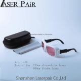 Gli occhiali di protezione del laser dell'obiettivo di rendimento elevato del Ce En207 proteggono la lunghezza d'onda For755nm & 808nm