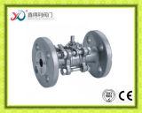 нержавеющая сталь CF8 3PC Factrory служила фланцем шариковый клапан 4 дюйма
