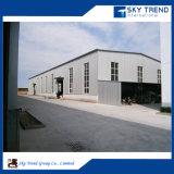 """Hangar agricole rapide de structure métallique de modèle de panneau """"sandwich"""" de toit de construction Nice"""