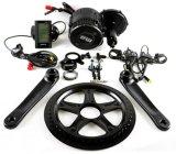 MEDIADOS DE kits BBS02 del motor impulsor 8fun para la bici eléctrica