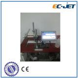 sur la ligne imprimante à jet d'encre de résolution de machine d'impression de date d'expiration
