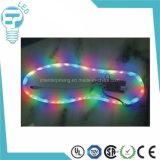 Lámpara colorida de la tira de la luz del zapato del LED