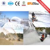 Ventilador de neve poderoso com motor de gasolina/pá da neve com rodas