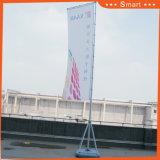 7 medidores de bandeira de praia ao ar livre da bandeira do Teardrop para anunciar (modelo no.: ZS-021)