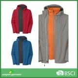 Высокая общего назначения новая зима напольные 3 типа в 1 куртке