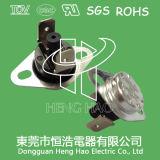 Ksd301 interrupteur thermique bimétallique, Ksd301 au-dessus de protecteur de courant ascendant de la chaleur