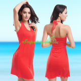 여자 바닷가 치마 또는 Beachwears