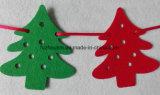 새로운 디자인 고품질 펠트 크리스마스 나무 훈장
