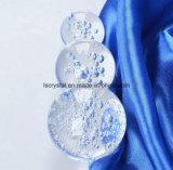 GroßhandelsKristallglas K9 mit Luftblasen-Kugel für Dekoration