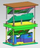 와이퍼를 위한 압축 공기를 넣은 가열판 용접 기계
