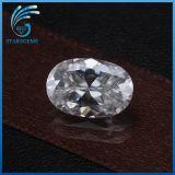 4X6mm 0.5 Karat-Oval-Schnitt-Qualität synthetischer weißer Moissanite Diamant für Ringe