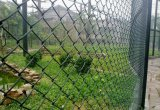 체인 연결 담을%s 정원 담 PVC 산울타리 판금