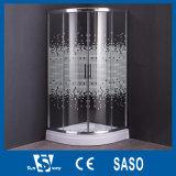Em volta das cabines de vidro do chuveiro da impressão de 900X900mm