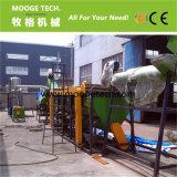Pp.-HDPE Plastikaufbereitenmaschine des grossen Milchflasche-Abfalls